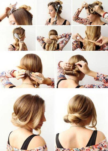 schnelle frisuren fuer schulterlanges haar