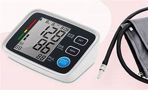 Blood Pressure Monitor  Heart Rate Monitor  Automatic