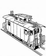 Train Coloring Freight Railroad Pages Bnsf Printable Template Caboose Sketch Templates Getcolorings Colorluna sketch template