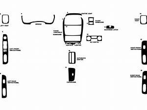 2002 Kia Optima Dash Kits
