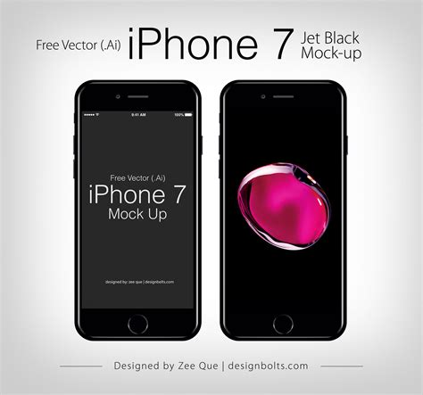 free on iphone free vector apple iphone 7 mockup in ai eps format