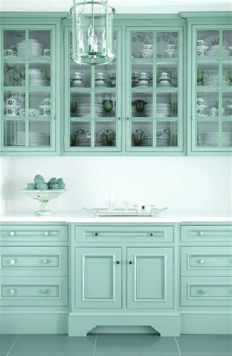 turquoise kitchen cabinets ideas  pinterest