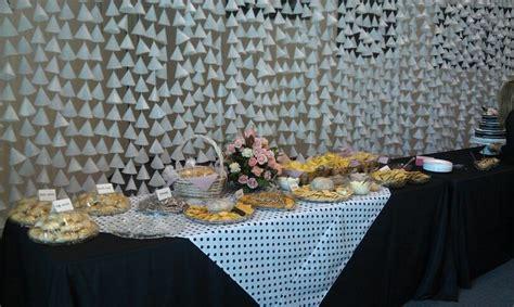 diy curtain diy wax paper curtain for bridal shower rehearsal