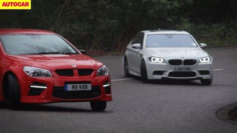 Vauxhall Vxr8 Takes On The Bmw M5 Video