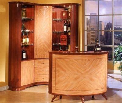 mini bar en madera  metal  ideas  el hogar brico