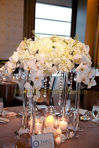 cm tall flower stand wedding crystal table centerpiece