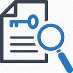 Research Keyword Icon Keywords Icons Magnifying Glass