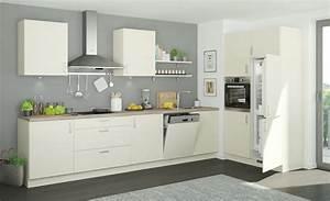 Höffner Küchen Aktion : k chenzeile ohne elektroger te usedom magnolia creme ausf hrung rechts ~ Frokenaadalensverden.com Haus und Dekorationen