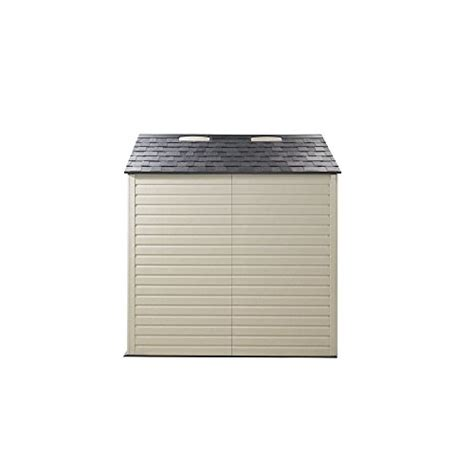 rubbermaid 7x7 feet x large 325 cubic feet outdoor storage