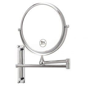 battery operated wall mounted lighted makeup mirror foter
