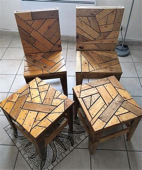 wood pallet chairs  tables woodworkingprojectsthatsell