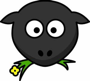Sheep face clipart - Clipground