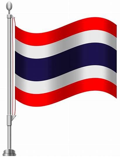 Flag Thailand Rica Costa Clip Mauritius Clipart