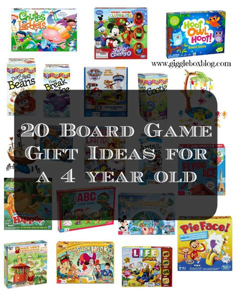 games for 4 year olds christmas gifts 20 board gift ideas for a 4 year gigglebox tells it like it is