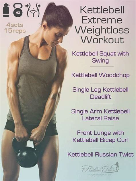 kettlebell loss weight workout extreme workouts fat circuits