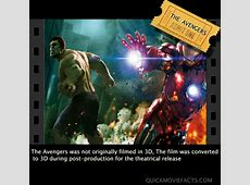 Top Ten Avengers Facts Quick Movie Facts