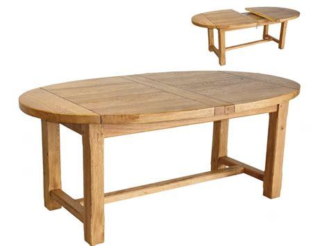 table de cuisine extensible table extensible ovale quot maeva quot en chêne massif 50894