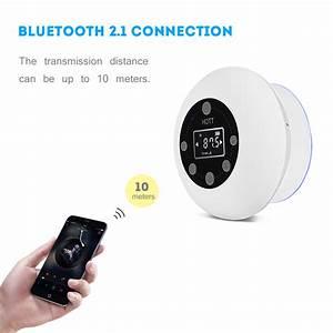 Bluetooth Lautsprecher Badezimmer : badezimmer wasserdicht bluetooth freisprechen lautsprecher fm radio musik player ebay ~ Markanthonyermac.com Haus und Dekorationen