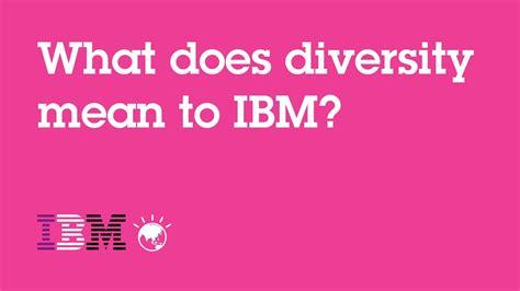diversity   ibm youtube