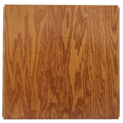 ludaire speciality tile red oak gunstock 12 in x 12 in