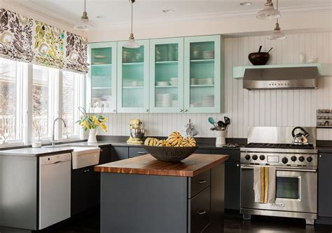 Light Blue Kitchen Cabinets Kitchen Beach With Beach House