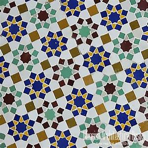 Islamic Tile Patterns Moroccan Shower Tile Zillij Mosaic