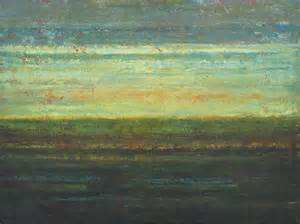 Abstract Landscape Paintings Sunset
