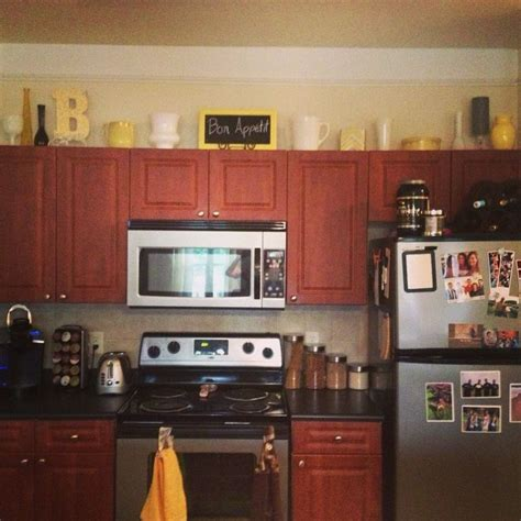 above kitchen cabinet decor above cabinet decor my kitchen makeover with painted