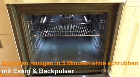 Wie Sie Den Ofen Mit Essig Und