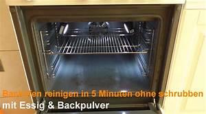 Ofen Sauber Machen : backofen reinigen wie sie den ofen mit essig und backpulver sauber machen ~ Frokenaadalensverden.com Haus und Dekorationen