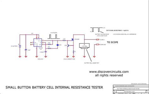 Button Battery Cell Internal Resistance Measurement