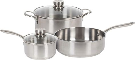 cookware stainless steel amazon sets