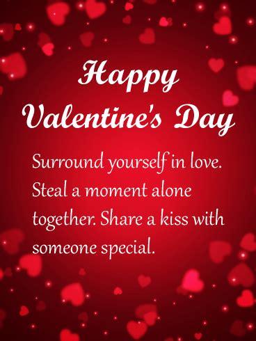 surround   love happy valentines day card