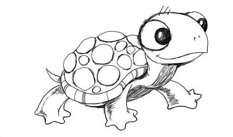 funny turtle drawing  getdrawingscom
