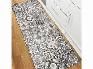 Tapis De Couloir Moderne : tapis pour couloir vinyle porto gris 50 x 100 cm fabriqu ~ Melissatoandfro.com Idées de Décoration