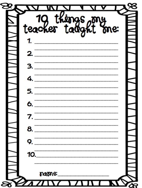 8 Free End Of The Year Printables Roommomspot
