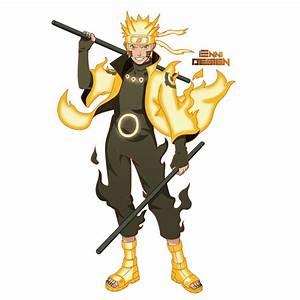 Naruto Shippuden|Naruto Uzumaki (Six Paths Mode) by ...