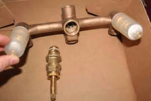 leaky delta kitchen faucet how to repair a leaking tub shower faucet