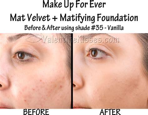 mufe mat velvet kisses make up for mat velvet matifying