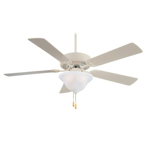 52 inch minka aire ceiling fan with light contractor uni