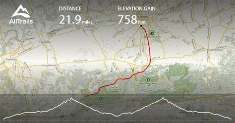 lebanon gretna rails trail mount pennsylvania section map alltrails
