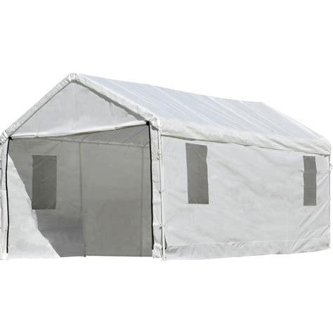 shelterlogic canopy parts  source  temporary portable garage shelter logic  weather