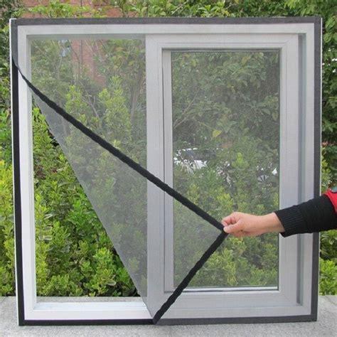 mosquitera diy ventana puerta malla negro blanco insecto mosca mosquito bug pantalla auto