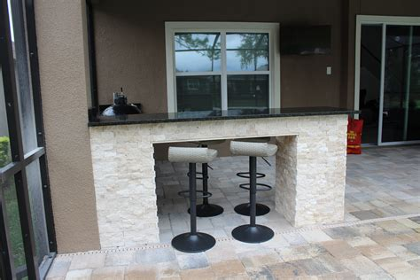bar seating outdoor kitchen synergy outdoor living