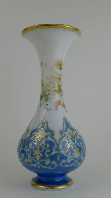 antiques atlas late  century french opaline glass vase