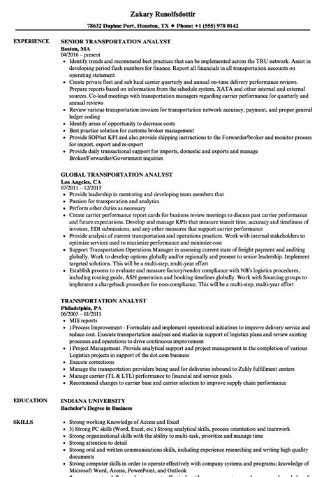 business analyst resume sles 28 images 17 images about