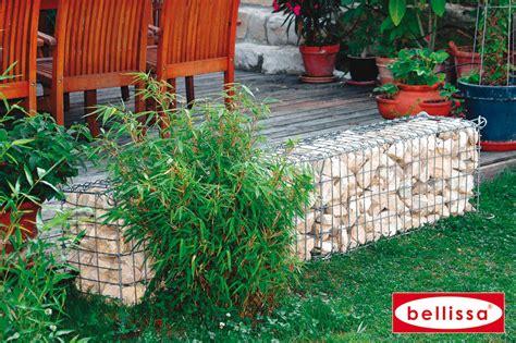 Décorer Son Jardin Avec Un Muret En Gabion Remplit De