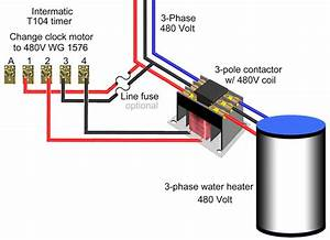 Simultaneous Water Heater Wiring