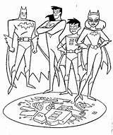 Robin Coloring Superhero sketch template