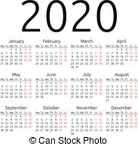 simple year calendar week starts monday